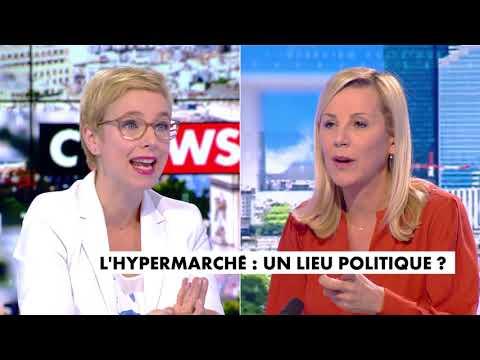 Candidature de Mélenchon, vaccin, crise sociale, hypermarchés... Clémentine Autain sur Cnews