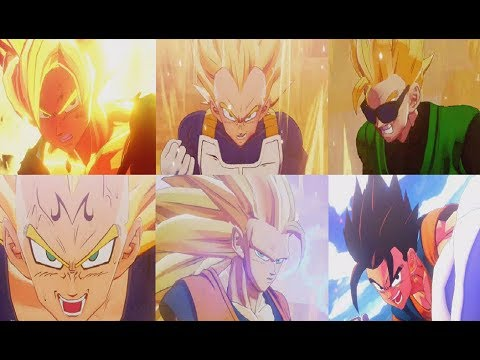 Dragon Ball Z Kakarot Transformations