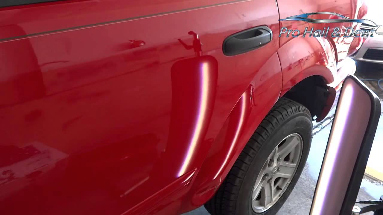 Pro Hail And Dent Repair - Durango Door Ding PDR - YouTube