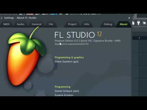 How to unlock FL Studio 12 full version with regkey