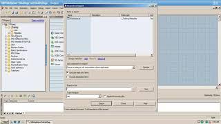 IBM InfoSphere DataStage-Tutorials - Wie import und export von DataStage Objekte