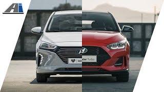 First Look: 2018 Hyundai Ionic hybrid, 2018 Hyundai Veloster