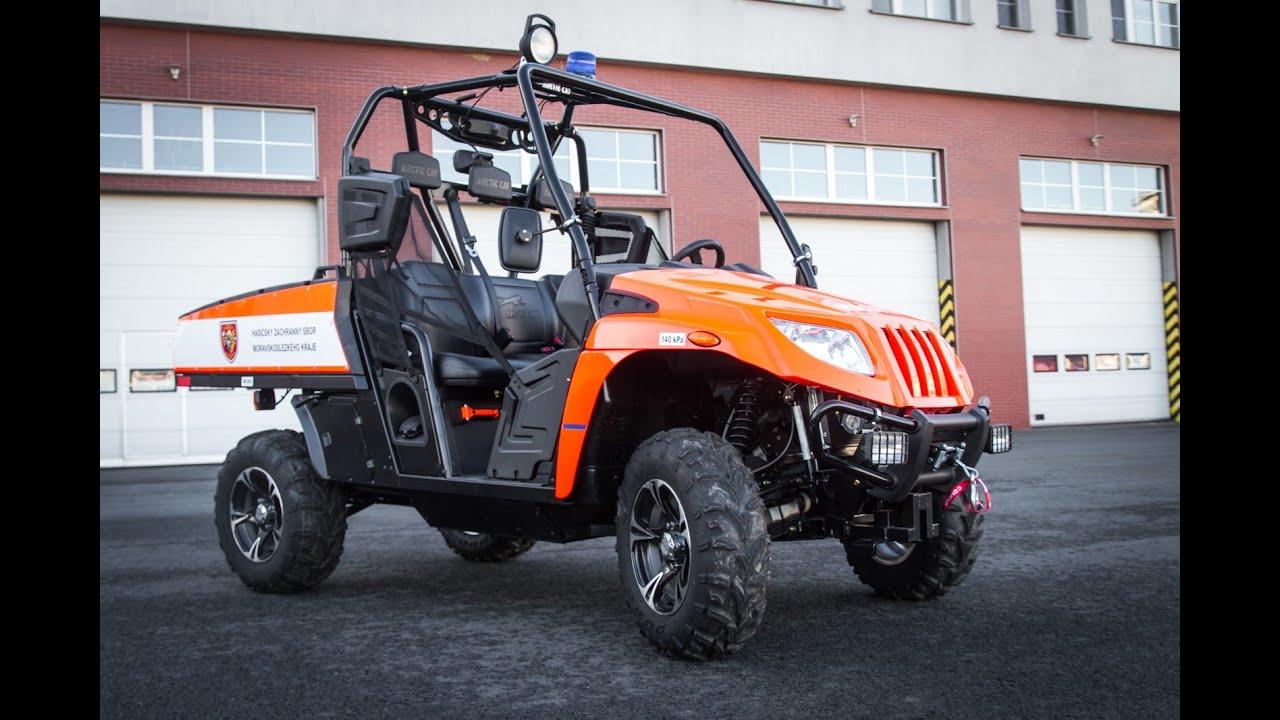 Arctic Cat Prowler HDX 700i in Czech Fire Rescue | www aspshop eu