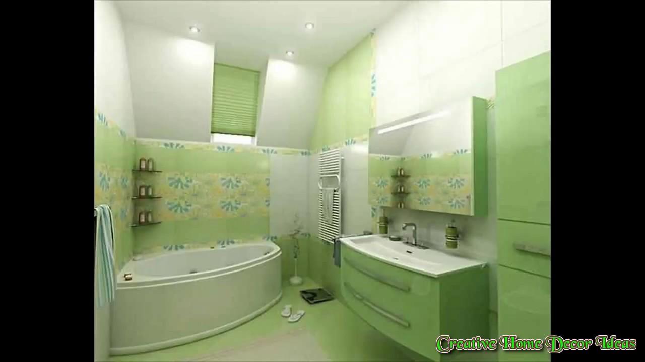 Green tiles for bathroom - Light Green Tiles Bathroom