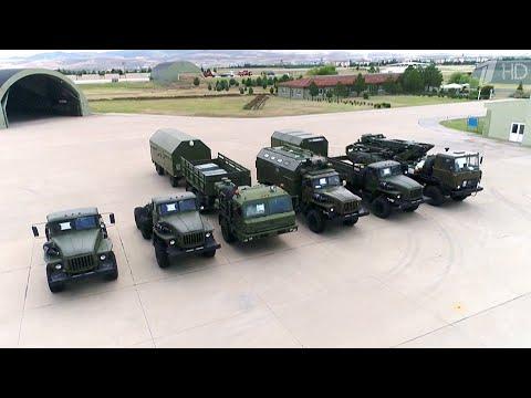 Россия начала поставки зенитно-ракетных комплексов С-400 в Турцию на сумму в 2,5 миллиарда долларов.