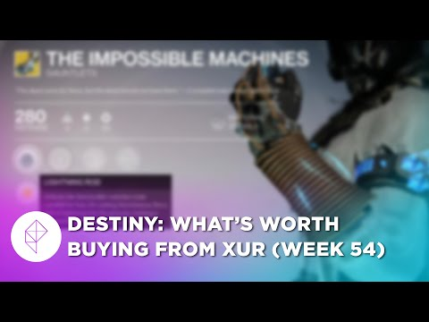 Here's what's worth buying from Destiny's Xur, Sept. 18-20