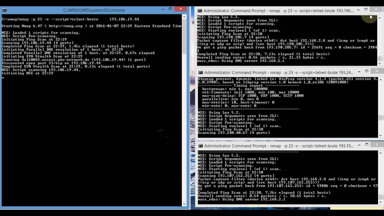 Windows command prompt nmap - Windows Command Prompt Nmap 4