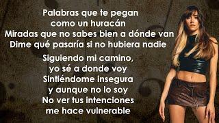 Aitana - Ni Una Más (Letra/Lyrics)