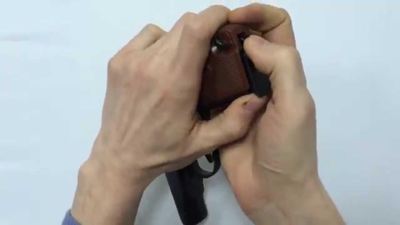 ПМФ-1 пистолет макарова под патрон флобера (макаров под флобера .