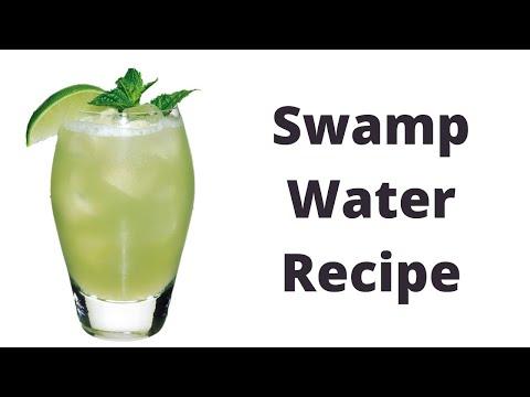 HALLOWEEN COCKTAILS   SWAMP WATER RECIPE