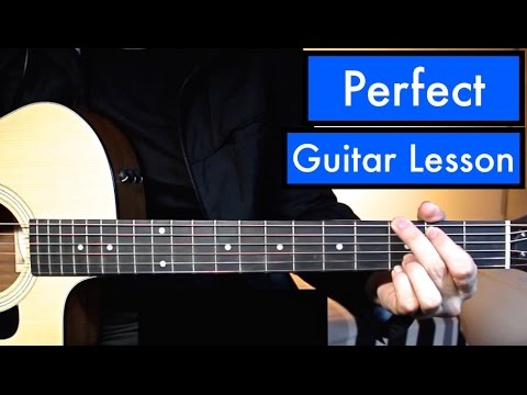 Perfect One Direction Guitar Tutorial Guitar Lesson Easy