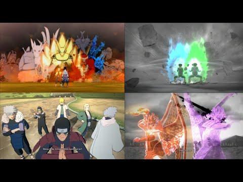 Semua Ulti Gabungan Di Game Naruto Storm 4