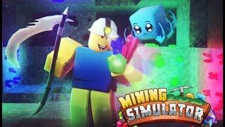 SUNT UN MINER! (Abonatii devin lupi) RobLOX Simulador de Minería