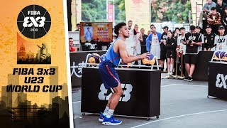 Rhon Jhay Abarrientos wins The Shoot Out Contest | FIBA 3x3 U23 World Cup 2018