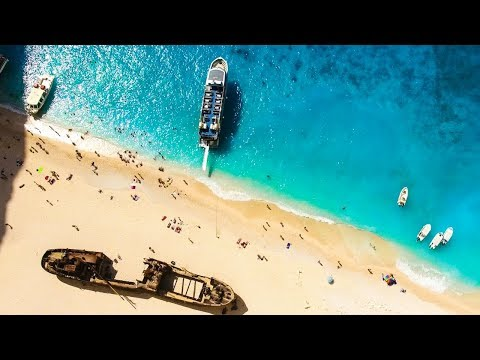 WOW!! Checkout this Ship Wreck on the most Stunning Beach in Greece! (Sailing La Vagabonde) Ep. 116