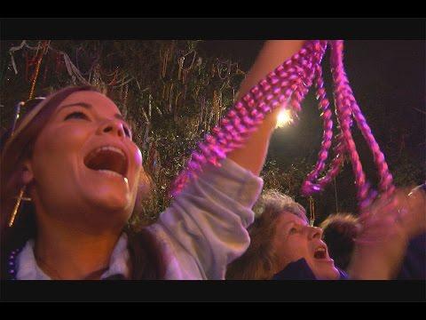 Parade Beads at MARDI GRAS New Orleans - WildTravelsTV.com