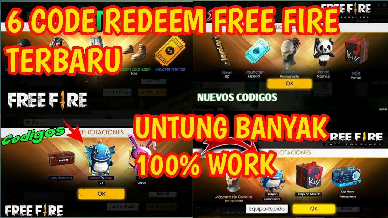 💋 Free fire codes november 2018 | FireDL CODE List 2018