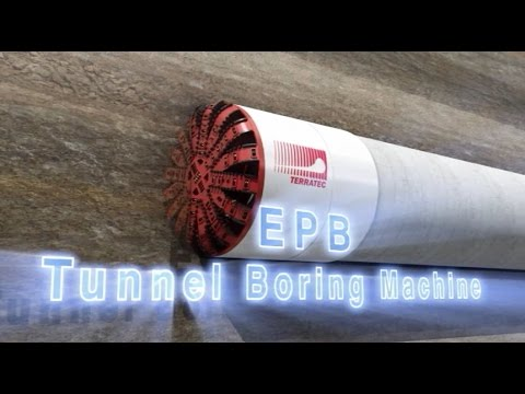 TERRATEC Tunnel Boring Machine - EPB Series