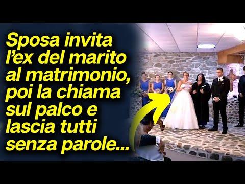 Sposa invita l'ex del marito al matrimonio, poi la chiama sul palco e lascia tutti senza parole...