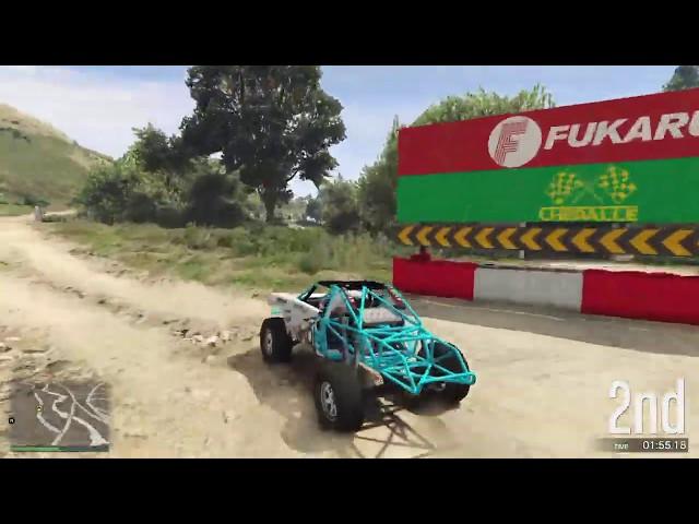 GTA Online Race: Trophy Truck Trauma - link in the description