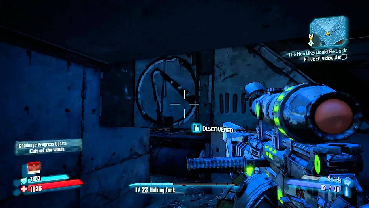 Borderlands 2 Opportunity Cult Of The Vault Youtube