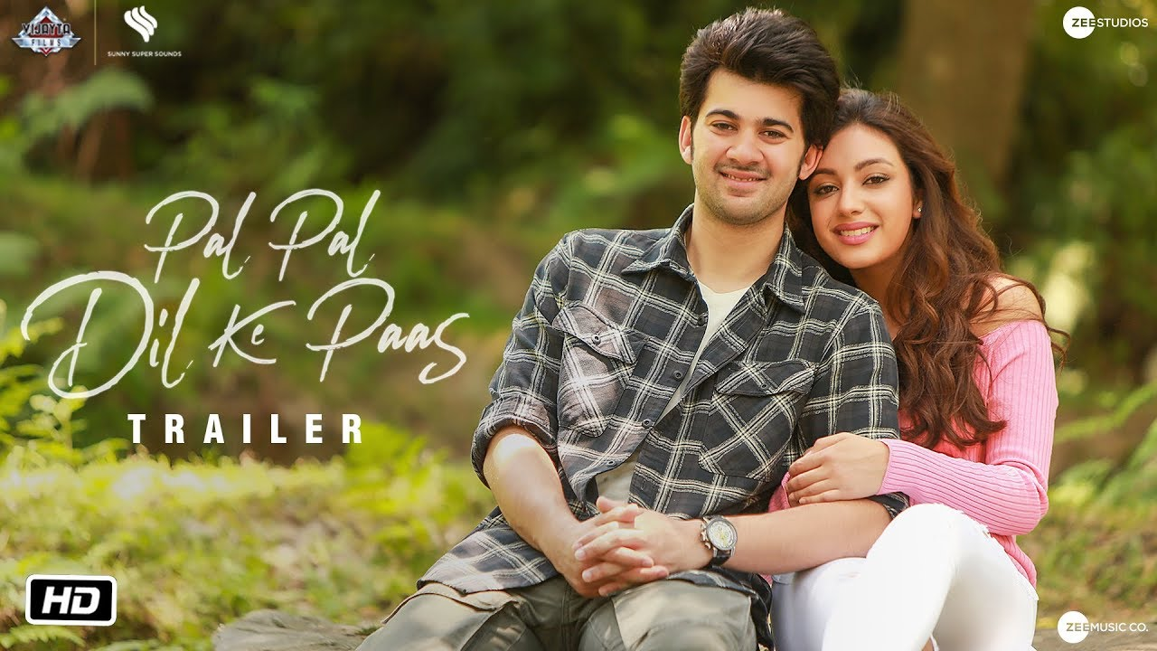 Pal Pal Dil Ke Paas Official Trailer Sunny Deol Karan Deol Sahher Bambba 20 Sept Youtube