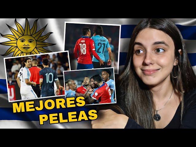 Reacción a las MEJORES PELEAS de la SELECCIÓN URUGUAYA *cuando los jugadores pierden el control*
