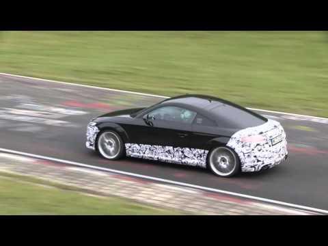 Vidéo : le futur Audi TT RS sur le Nürburgring