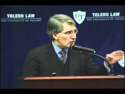 Robert P. George at Toledo Law