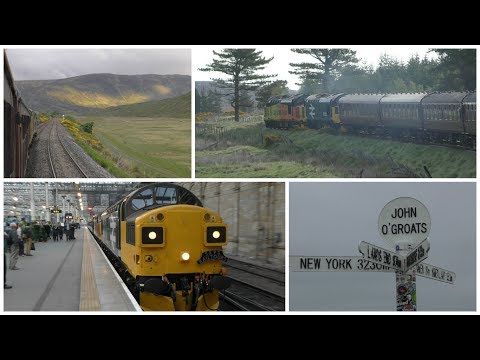 The Far North Explorer from Edinburgh to Thurso and Wick + J
