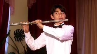 Г. Доницетти - Концертино для флейты и фортепиано. Джафаров Тимур (Флейта)
