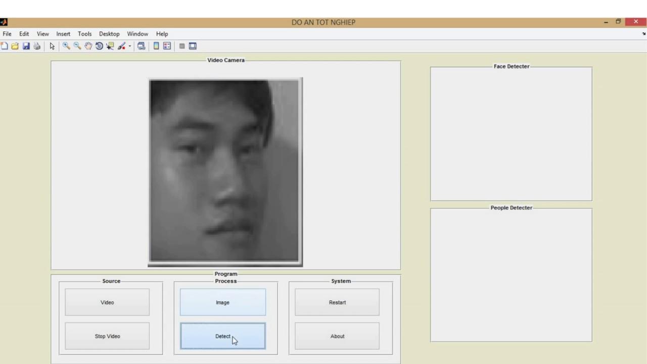 Raspberry pi 2 - nhận dạng khuôn mặt, dáng người dùng matlab #1