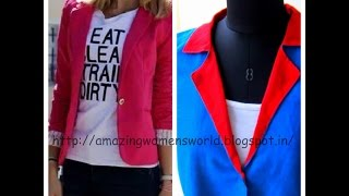 EASY MAKING JACKET / COAT - NOTCHED COLLARS , NOTCHED LAPELS