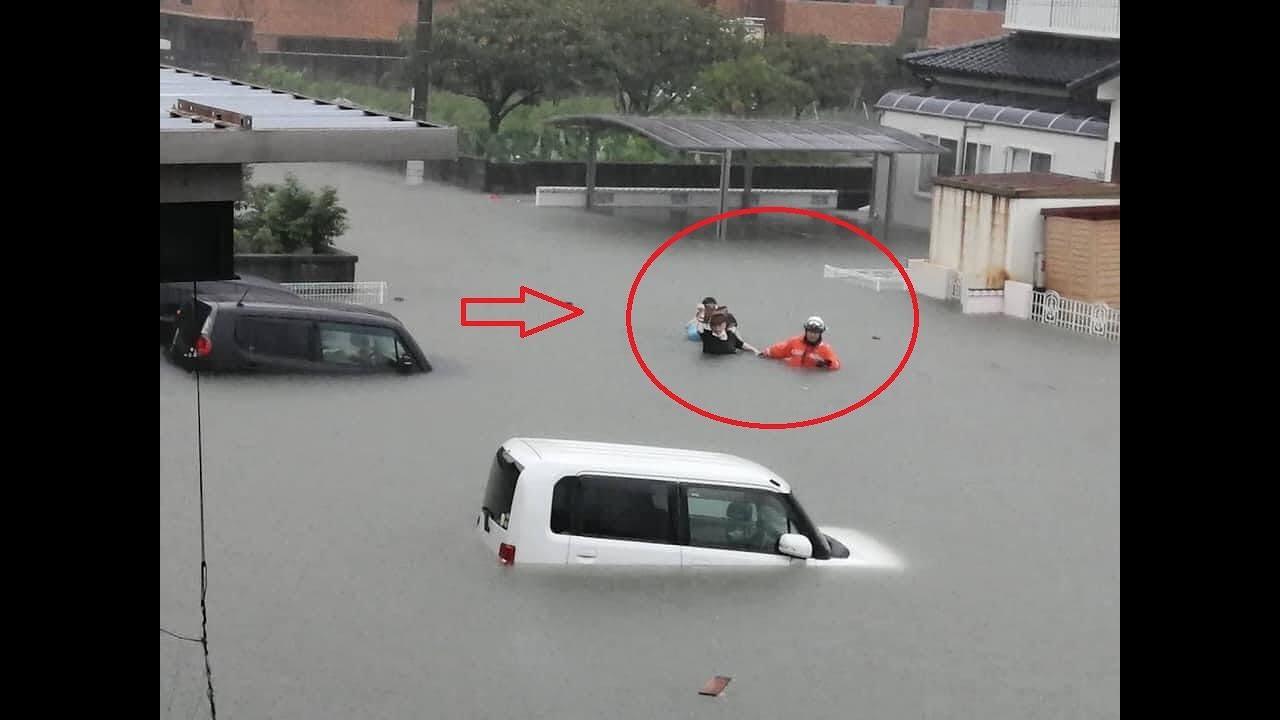 Fortes chuvas castigam o Japão