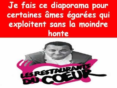 enfoir s coluche et restos du coeur youtube. Black Bedroom Furniture Sets. Home Design Ideas