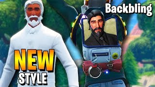 Fortnite - How to unlock NEW JOHN WICK's Style /Back Bling! [Season 9 LTM]
