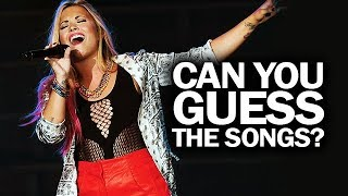 Demi Lovato - GAME: Guess The Songs By The OUTFIT!