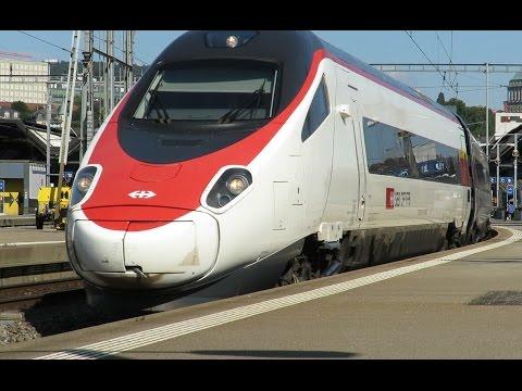 Zug um Zug - Zürich Hauptbahnhof im Sommer 2016