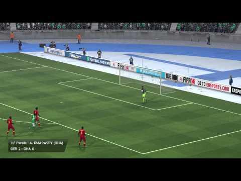 {Vorrundenspiel}Deutschland gegen Ghana{Gameplay}