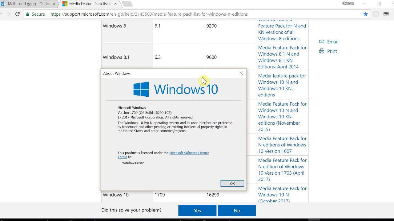 Macbook Pro Windows 10 Keyboard BackLight Not working and Windows 10 Media  Player