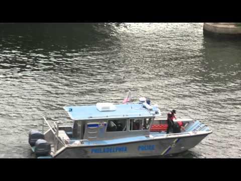 *EXTREMELY RARE* Philadelphia Police Marine Boat 3 & U.S. Coast Guard Boat