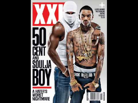 50 cent and Soulja Boy Poses for an unexpected magazine