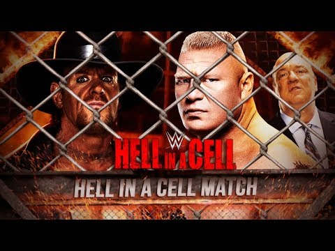 WWE The Undertaker Vs. Brock Lesnar - Hell In a Cell 2015 Highlights