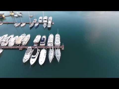 Drone Flight over Pula/Veruda Harbor