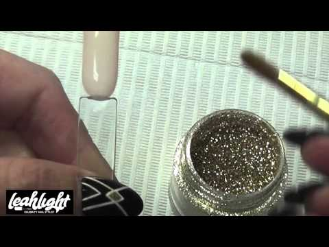 Simple Ombre Gel Polish Glitter Fade