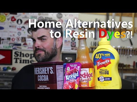 Household Alternatives to Resin Dyes