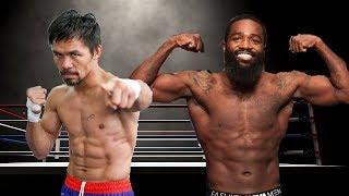 Manny Pacquiao vs Adrien Broner Live Vote Now