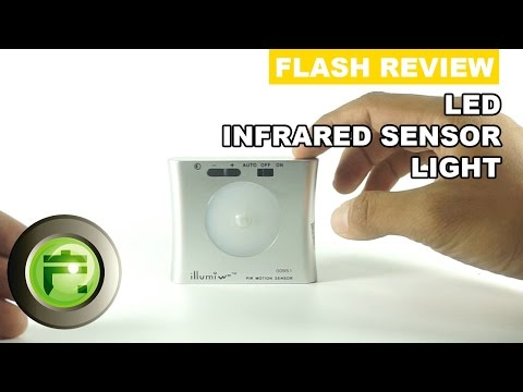 LED Infrared Sensor Light - Review Indonesia - Flash Gadget Store