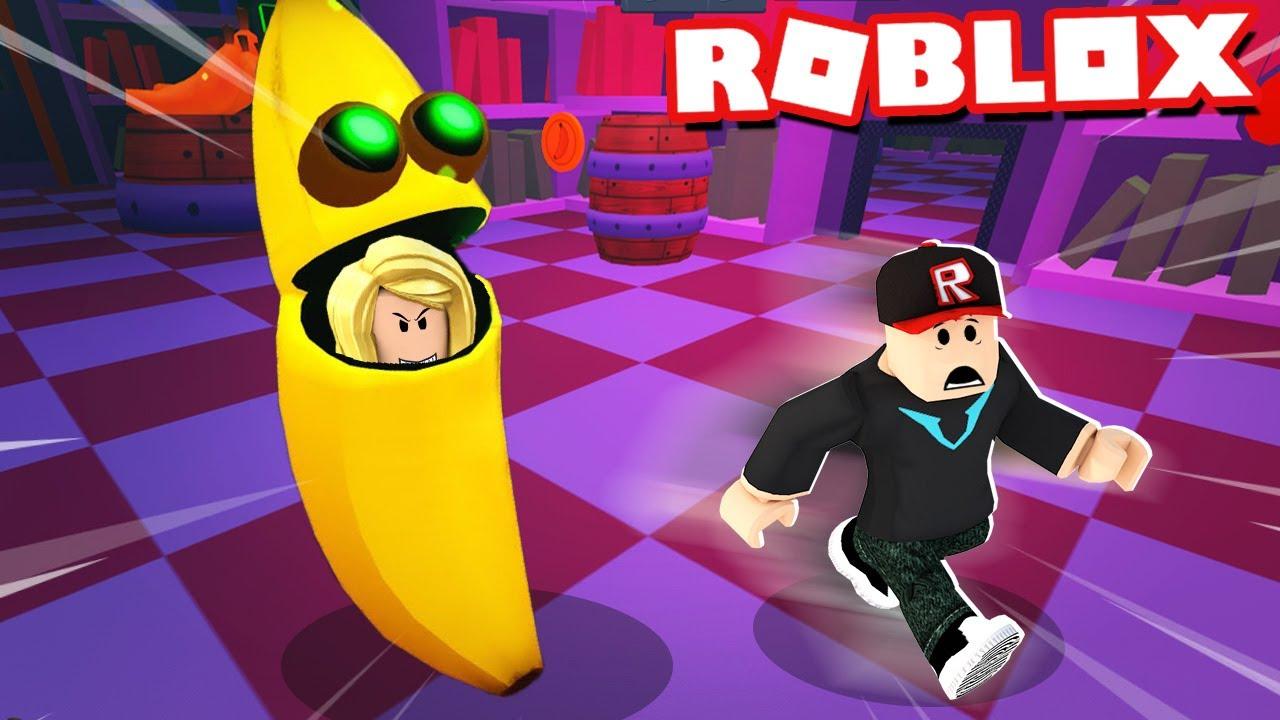 BELLA JEST ZŁYM BANANEM I CHCE MNIE ZJEŚĆ W ROBLOX! (Roblox Banana Eats) | Vito i Bella