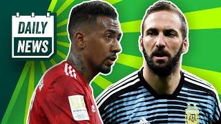 Hasenhüttl vs. Fortnite! SGE-Fans dürfen nach Lissabon! Gonzalo Higuaín nie mehr für Argentinien!